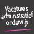 Vacatures administratief onderwijs